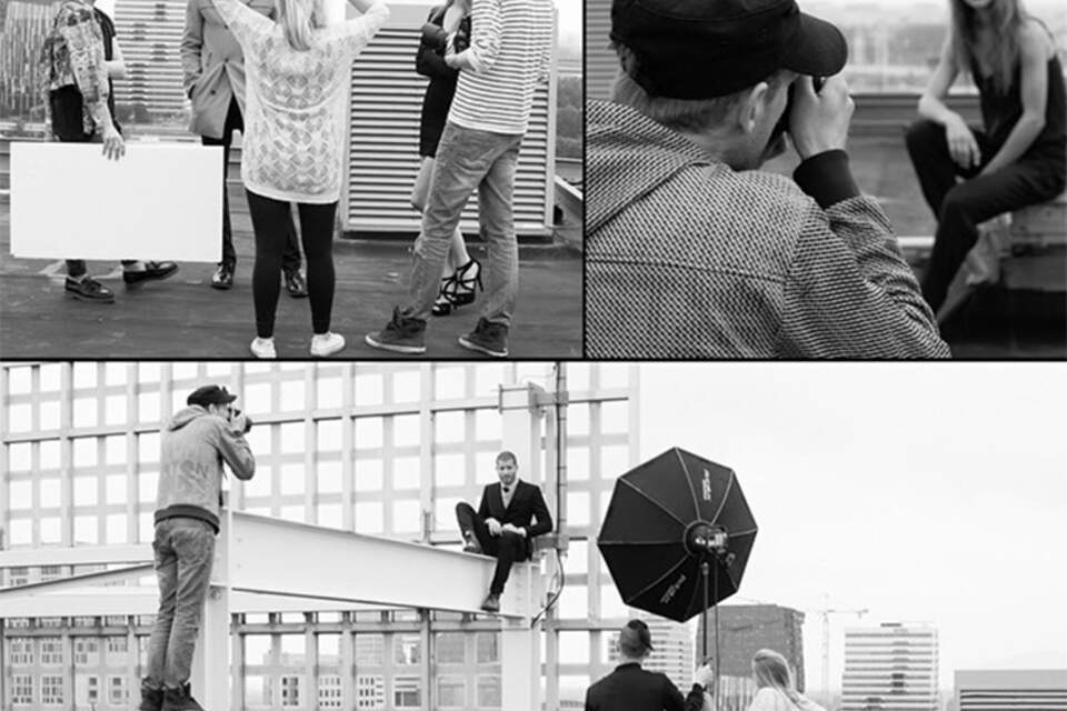 Behind the Scenes, Fashion Shoot, Location Photography, Studio Zelden Zurich